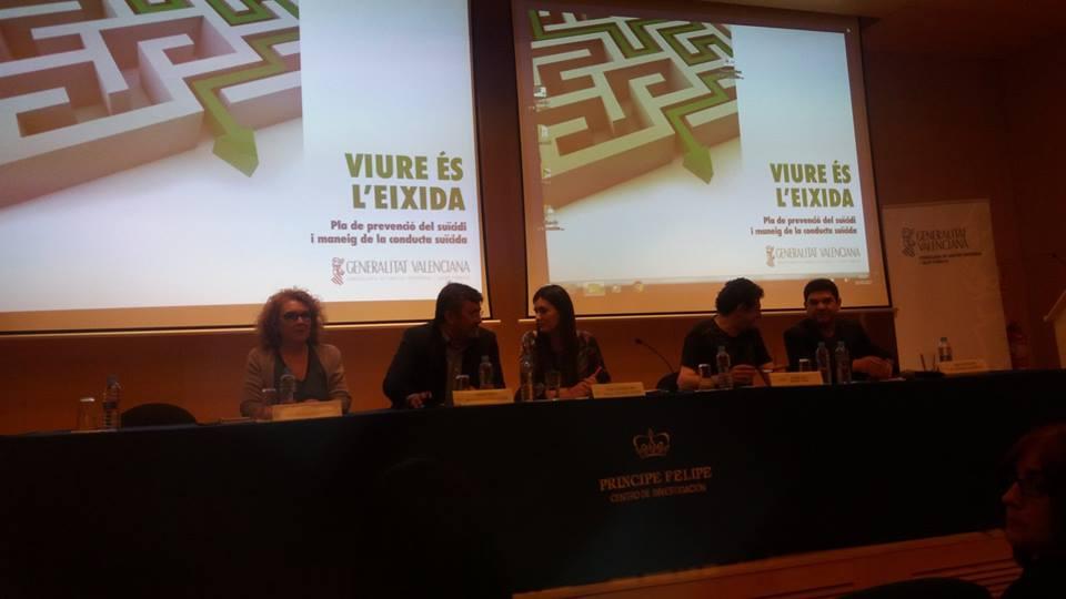 Personal técnico de la Asociación Albero asiste a la presentación del «plan de prevención del suicidio y manejo de la conducta suicida de la Comunidad Valenciana»