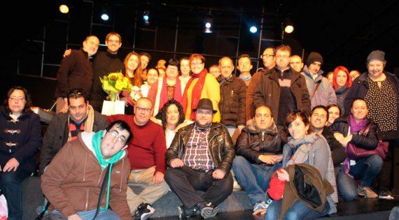 Concierto de la Asociación Albero Artesanos en el Teatro del Mercado de Aldaia