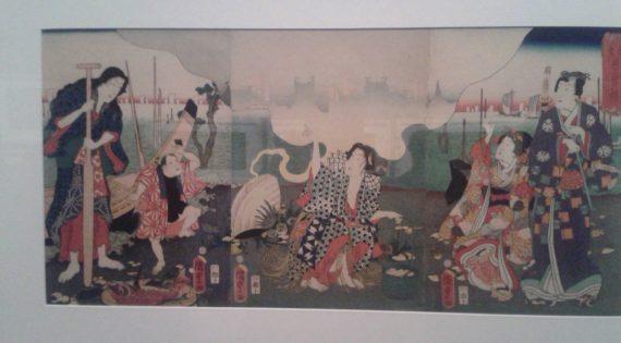 Exposición de acuarela japonesa en el MUVIM