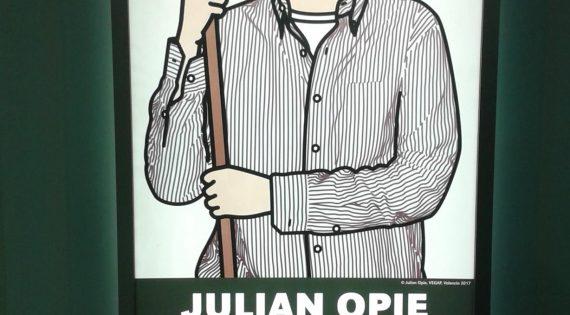 Taller dedicado al artista Julian Opie en la Fundación Bancaja