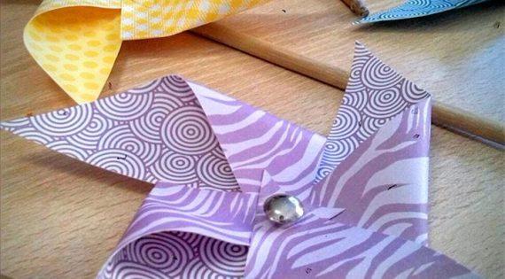 Taller de molinillos de papel