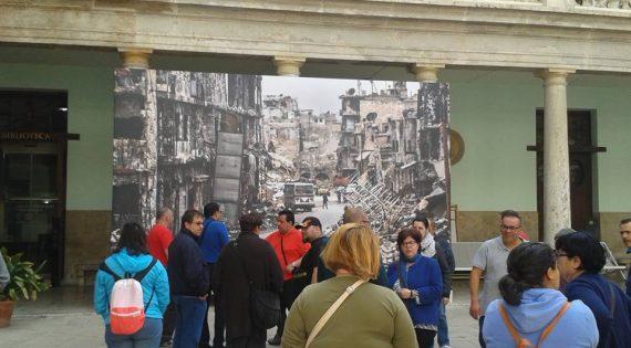 Visita de Albero Artesanos al Festival Internacional de Fotoperiodismo y fotografía documental