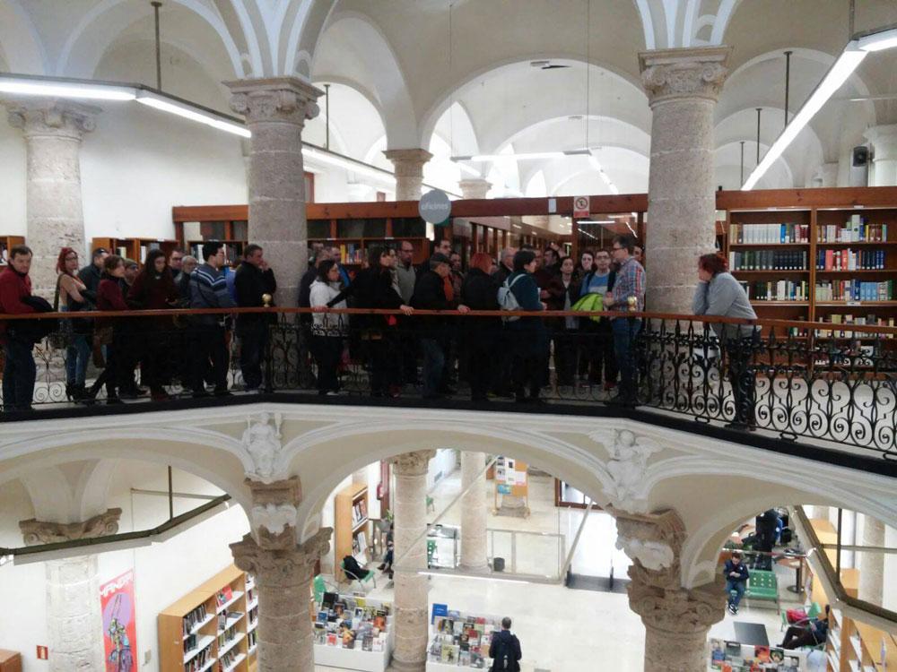 Visita Biblioteca Pública Valencia 2