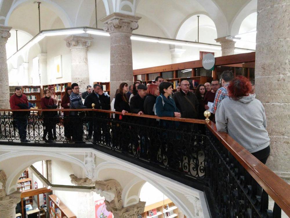 Visita a la Biblioteca Pública de Valencia