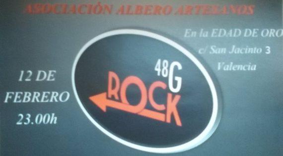Concierto del grupo 48G en beneficio de la Asociación Albero Artesanos