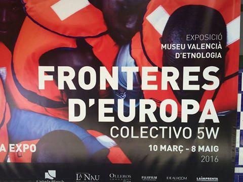 Visita a la exposición «Fronteras de Europa»