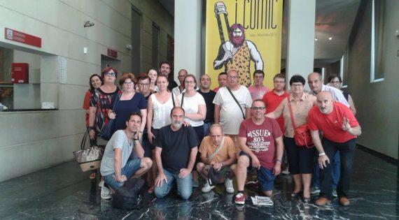 Visita a la exposición «Cómic y Prehistoria» en el Museo de Prehistoria de Valencia