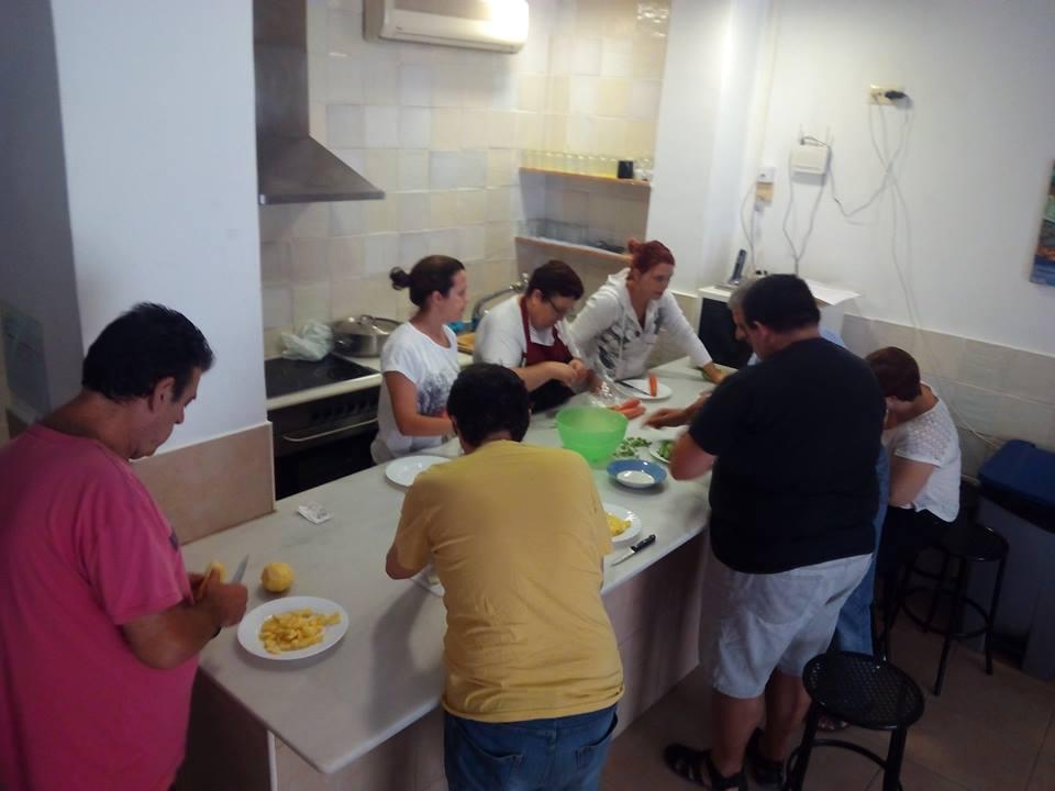 Cerámica rehabilitación taller cocina 4