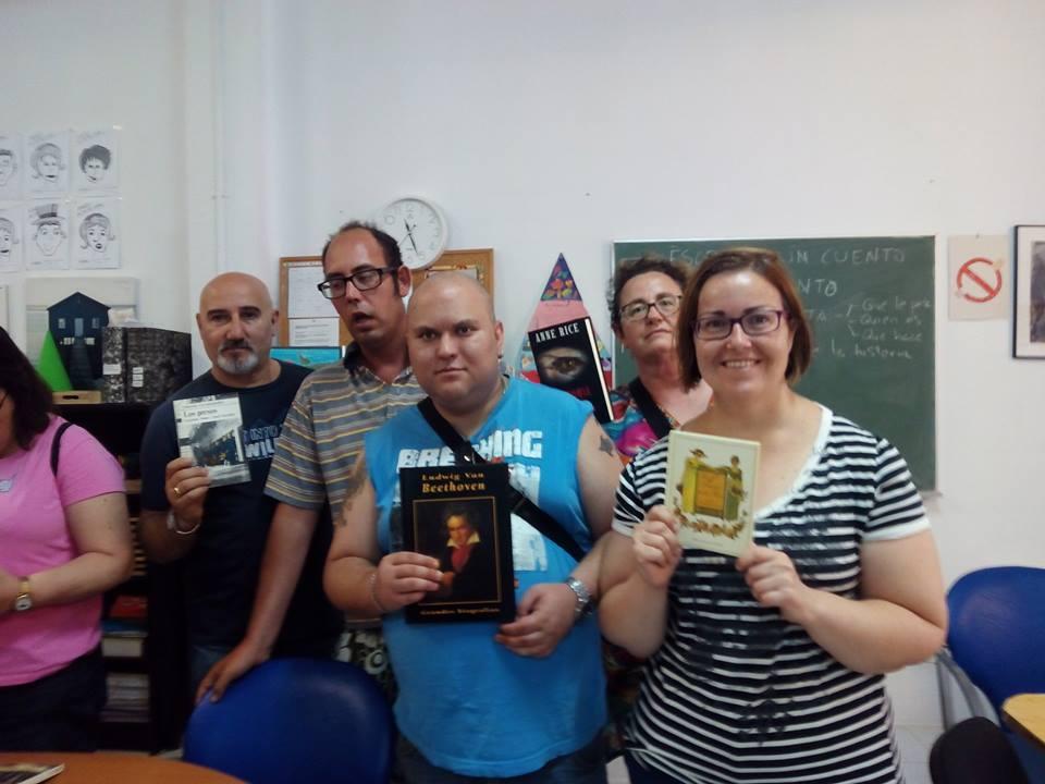 Día del libro en la asociación 1