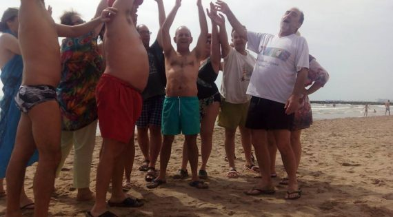 Día de playa en Port Saplaya