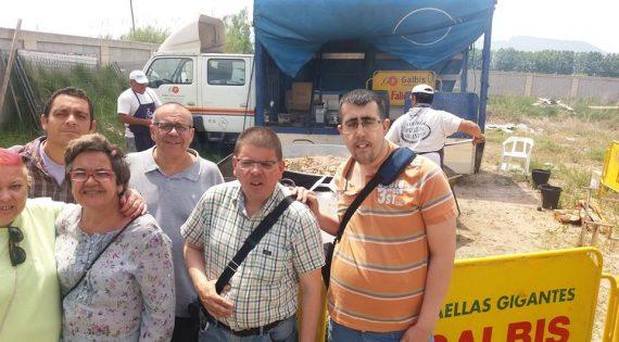 El equipo de futbito de Albero Artesanos en Sueca