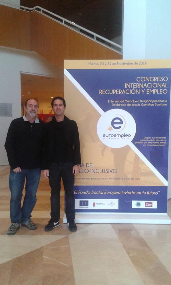 I Feria de Empleo Inclusivo y Congreso Internacional de Recuperación y Empleo celebrado en Murcia