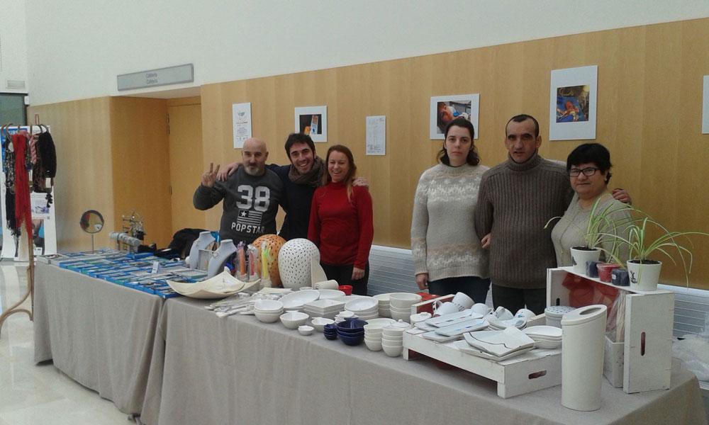 Inauguramos las Ferias navideñas en Albero Artesanos