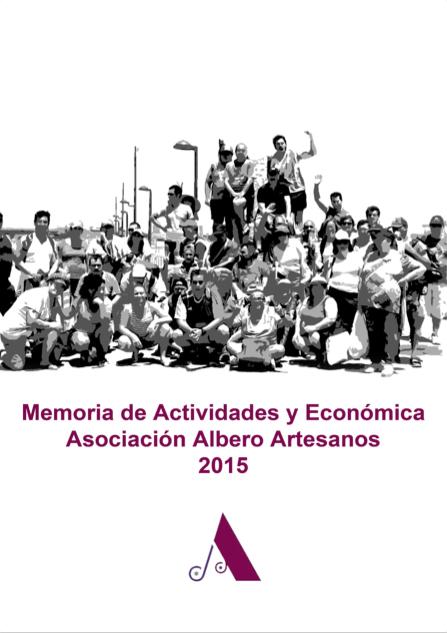Memoria de Actividades Económicas 2015