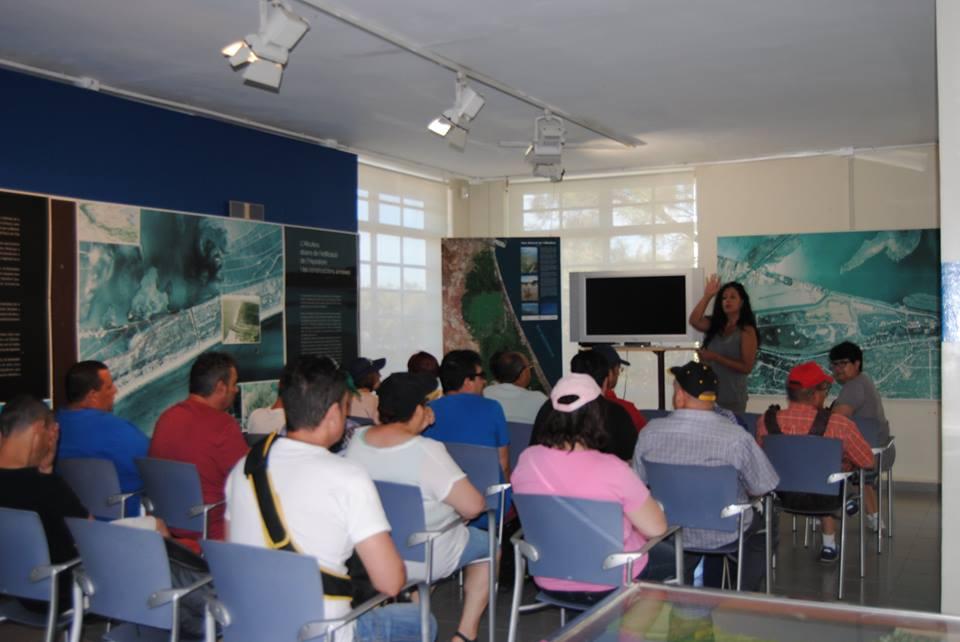 Visita al centro de recuperación de aves de El Saler 1