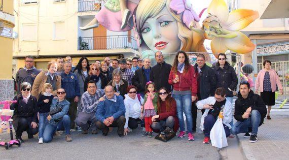 Visita a las Fallas de Aldaya