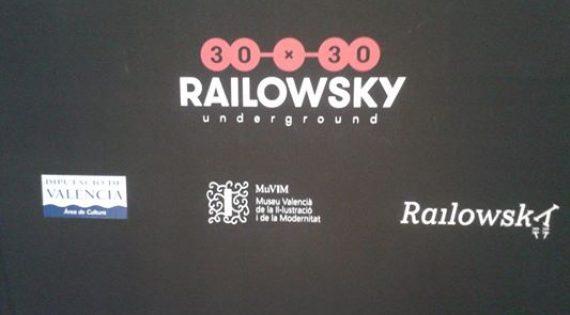 Exposición de la galería Railowsky en el MUVIM