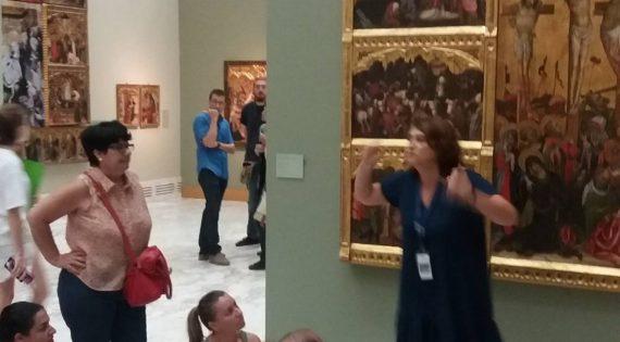 Visita al Museo de Bellas Artes Pío V