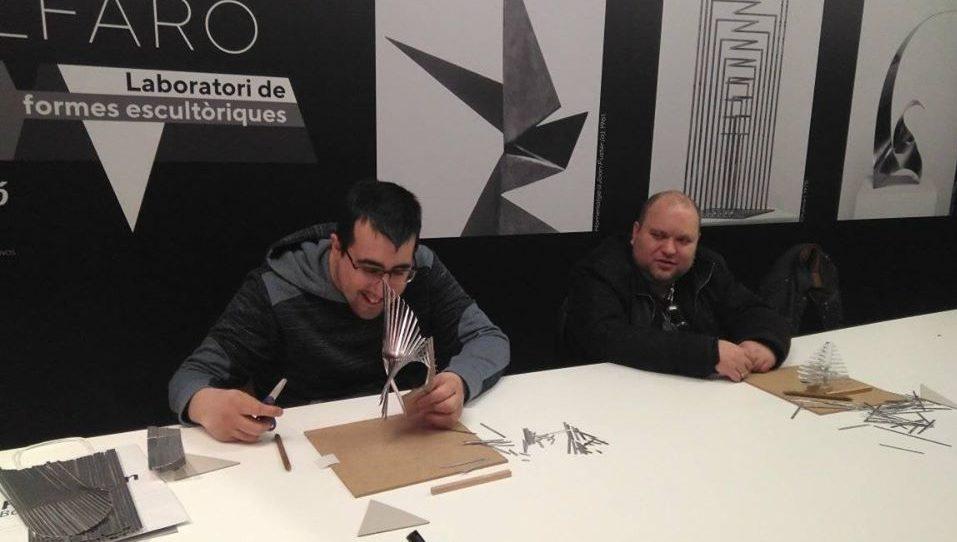 Albero Artesanos participa en los Talleres Bancaja dedicados al escultor Andreu Alfaro.