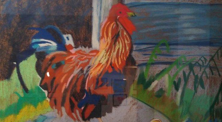 Visita exposición de pintura en el Centro Cultural de Mislata