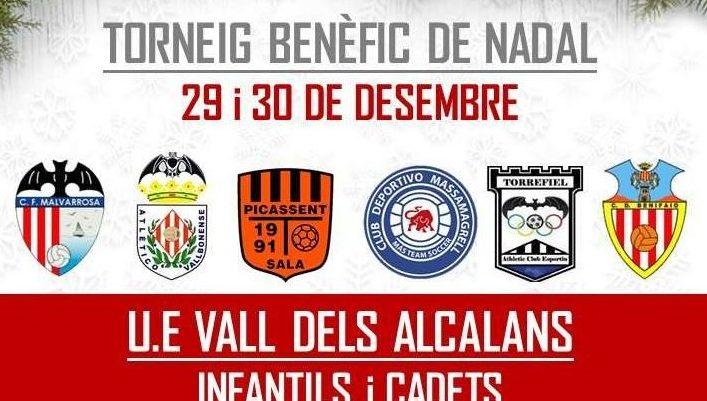 La UE Vall dels Alcalans donará su rifa benéfica de navidad a la Asociación Albero Artesanos